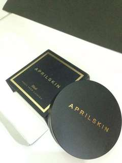 Aprilskin black magic snow cushion
