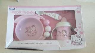 Brand new Sanrio Hello kitty baby feeding set