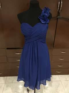 Blue Cocktail Dress / Gown