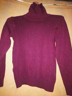 Sweater rajut bahan tebal