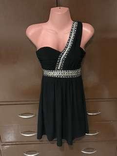 Black Cocktail Dress / Gown