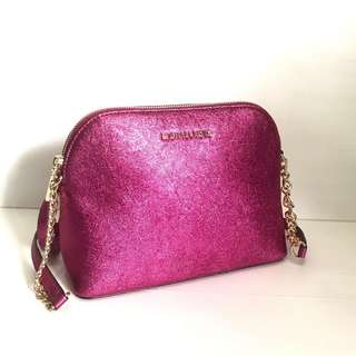Authentic Michael Kors Cindy Dome Crossbodies Ultra Pink