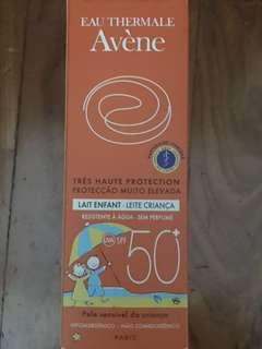 Avène Sunblock for Children SPF50