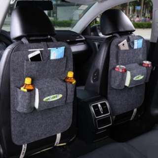 15739 7 Pockets Useful Car Backrest Storage Bag