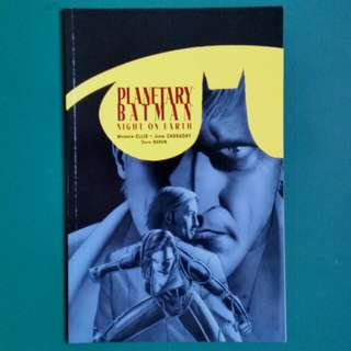 Planetary Batman comic