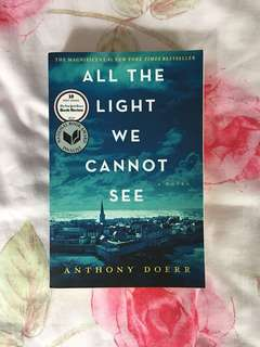 All the Light we Cannot See by Anthony Doeet