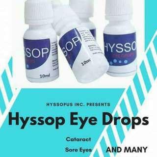 HYSSOP EYEDROPS