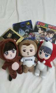 EXO Dolls & Albums (Clearance Sale)