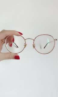 Vintage spectacle with degree