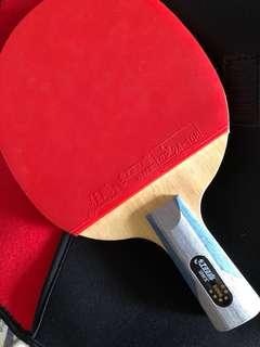 紅雙喜6星乒乓球直拍連拍套