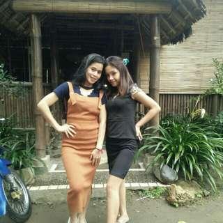 Dress bangkok hitam