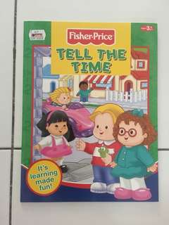 Fisher Price Book Tell the Time