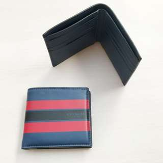 READY ONLY @1.000.000 COACH BIFOLD WALLET