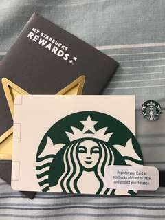 Starbucks Card Siren White with Load