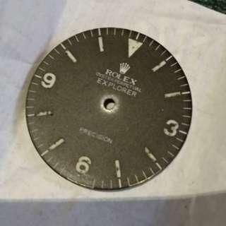 Rolex Explorer Precision Dial