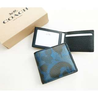 READY 1.150K COACH COMPACT ID WALLET