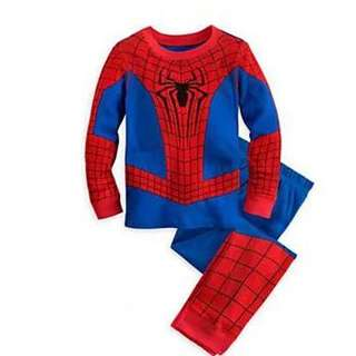 Spiderman Pyjamas For Age 3-7 yrs Old