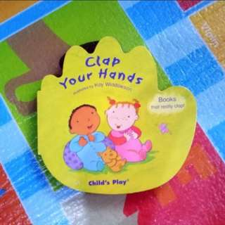 (BNEW) Clap Your Hands Book