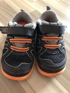 Pediped size 23 mars orange shoes with box