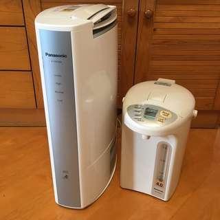 樂聲抽濕機+熱水壺(兩個都壞的)