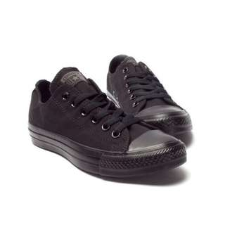 Converse Chuck Taylor All Star Core Shoes - Black Monochrome