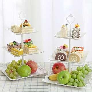 3 Layer Cake Stand  Rm24 Pos semenanjung rm8  Pm Wasap 0176725125