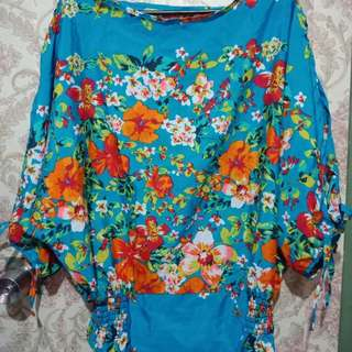Colorful Summer Blouse