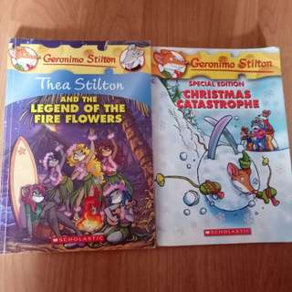 Geronimo and Thea Stilton Books