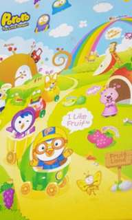 Playmat Parklon Pororo The Little Penguin Korean thick crawl play activity gym mat
