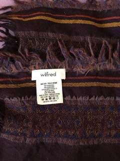 Aritzia Wilfred scarf