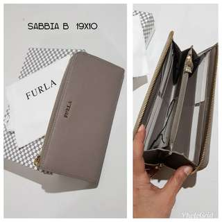Authentic FURLA WALLET Sabbia B