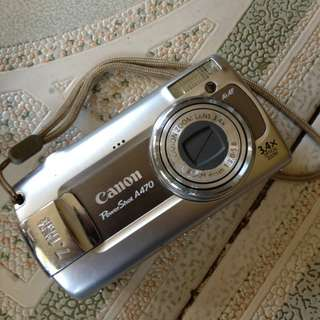 Canon powershot 4A70 camera with Free Charger!