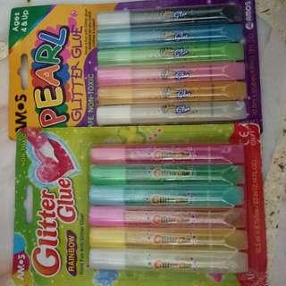 Glitter glue set