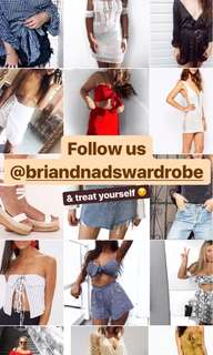 Follow us on insta for cheap new clothes