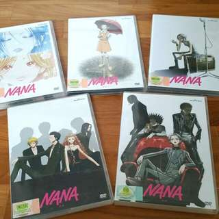 Nana Episodes 1-47 DVD (Vol. 1-5)
