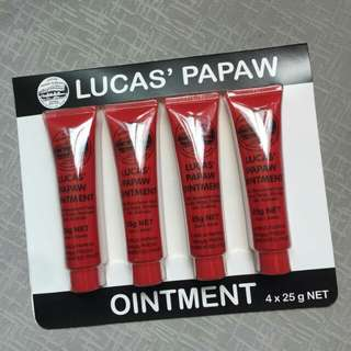 Lucas Papaw 25g 💯 Authentic from australia with receipt