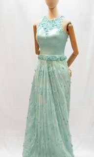 Chantily lace long dress