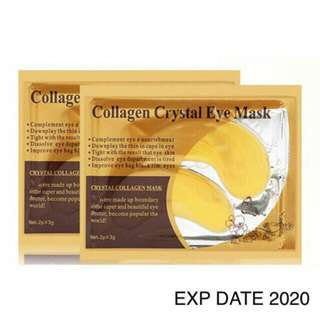 Collagen crystal eye mask