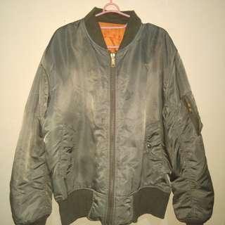 Jaket Bomber Bolak-Balik Asli Made in Korea