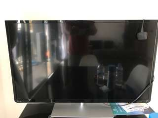 Faulty 39 inch tv