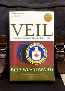 《New Book Condition + The Spy Story Of The Century》Bob Woodward - VEIL : The Secret Wars Of CIA, 1981 - 1987