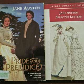 Jane Austen books/letters