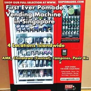 SGPomades Vending Machines - No.1 Pomade