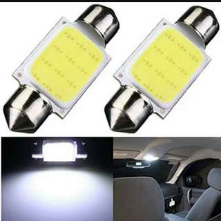 Confirm cheapest dome Car Reading Light COB 31MM/36MM /39MM/42MM White Car Festoon Interior Light Dome Lamp 12LED DC 12V