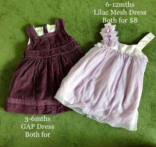 GAP Purple Dress
