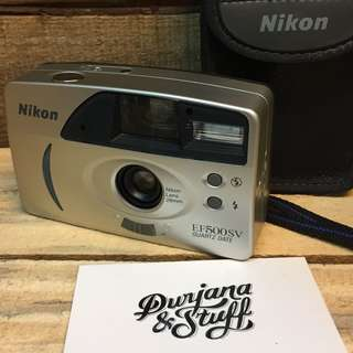 Nikon EF500SV film camera