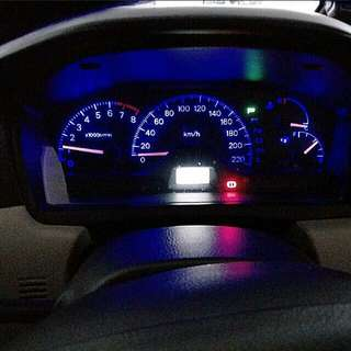 CS3 Speedometer Led Lights And Interior Lights.