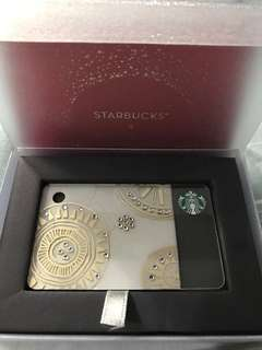 Starbucks Swarovski Mini Card with P2,500 Load