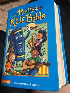 Children Kids Bible (Psalty) New International Version