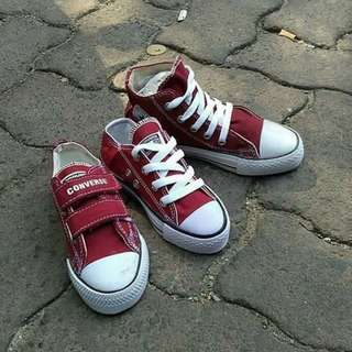 Converse shoes for kid's